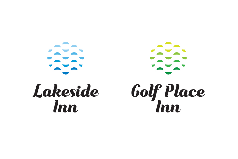 lake side and golf place logo design Australia