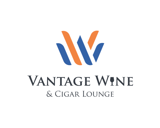 Vantage Wine Logo Design