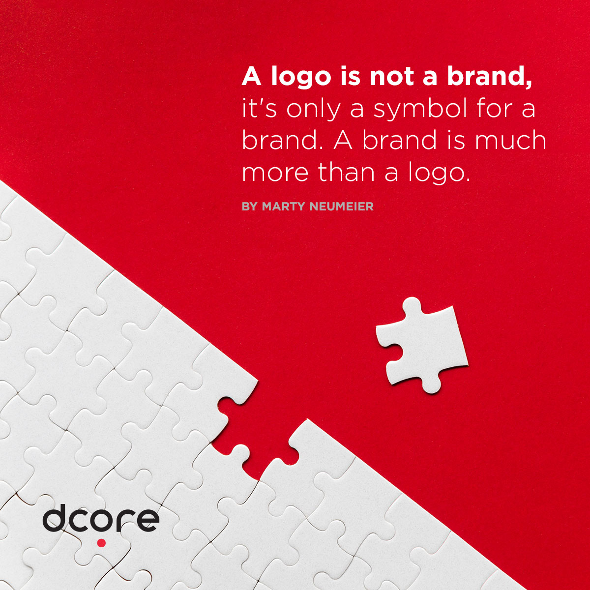 logo design quotes by MARTY NEUMEIER