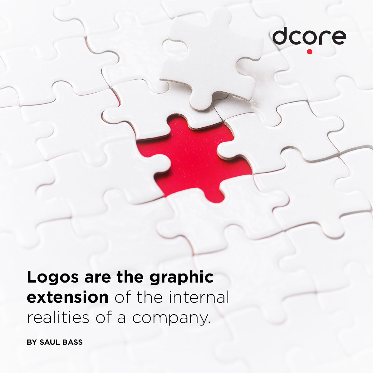 logo design quotes by SAUL BASS